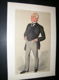 Vanity Fair Print 1890 Henry Mitchell, Businessman
